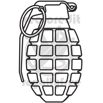 Drawn smokey vector Hand Grenade Pinterest Best How