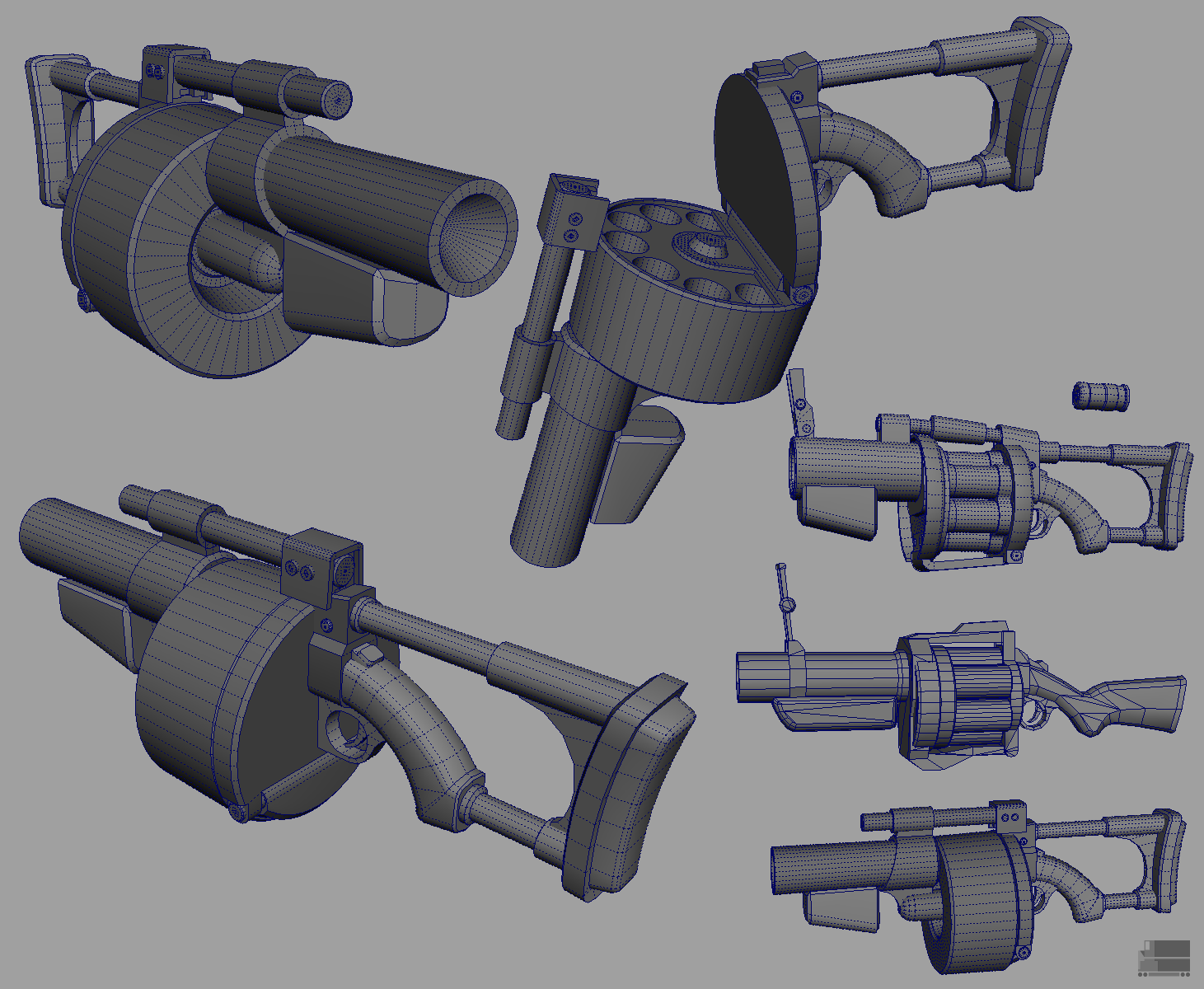 Drawn grenade gun Grenade_launcher_wip1_by_elbagast png Fortress polycount Page