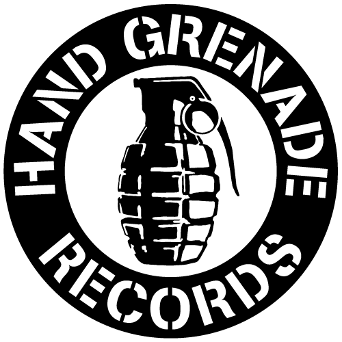 Drawn grenade hand grenade HAND  GRENADE RECORDS