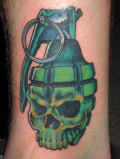 Drawn grenade skull 410)533 grenade Pinterest ideas Skull