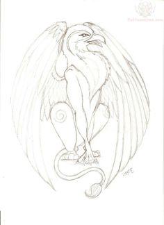 Drawn phoenix Drawn Griffin  Tattoo tattoos GRIFFIN Griffin