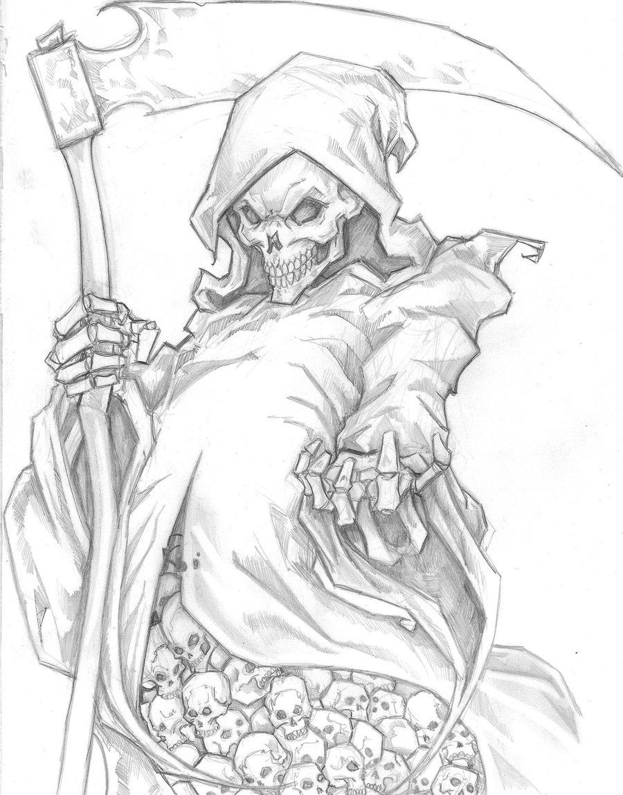 Drawn grim reaper Grim Grim Reaper Image Reaper