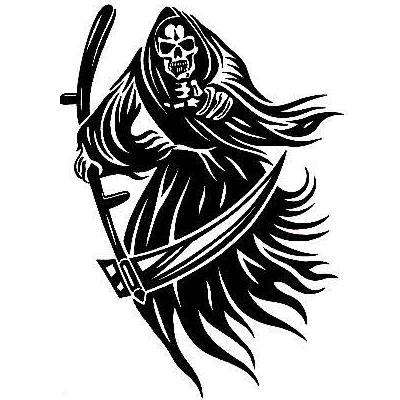 Drawn grim reaper abstract Products Designs Tattoo Tattoos New