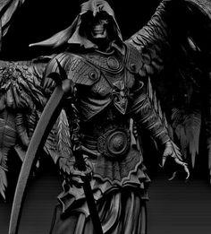Drawn grim reaper angel wing The LoveAngel · no cherubim