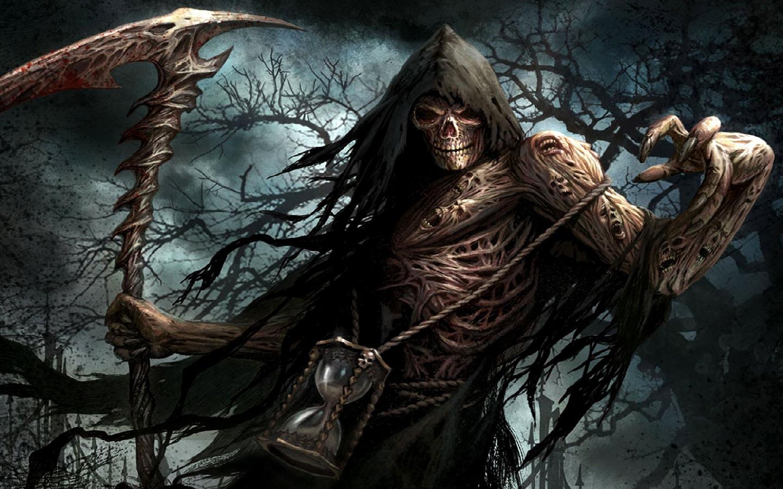 Drawn grim reaper angel wing Wings Reaper Reaper Reaper Wallpaper