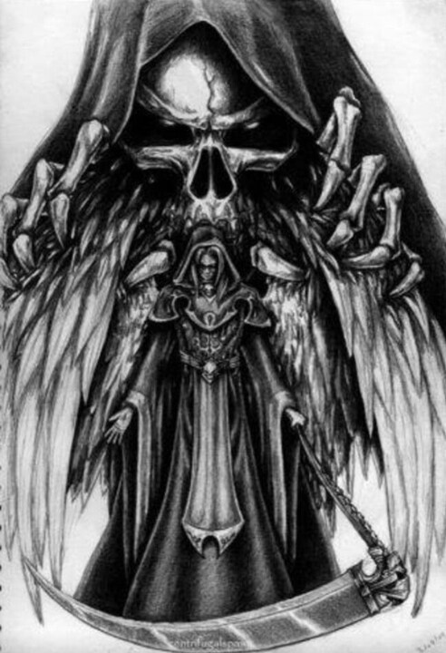 Drawn grim reaper angry Find Pinterest Pin on Reapers