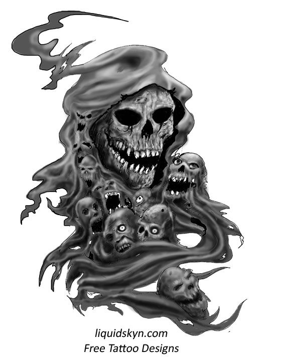 Drawn grim reaper avenged sevenfold Tattoo Free Reaper images Designs