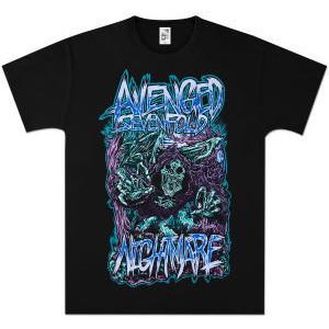 Drawn grim reaper avenged sevenfold T Scream Sevenfold Death days