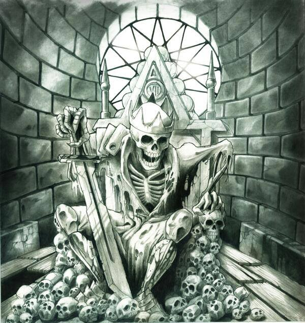 Drawn grim reaper avenged sevenfold Original by drawing  Avenged