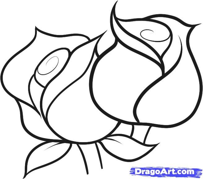 Drawn phone line drawing #9