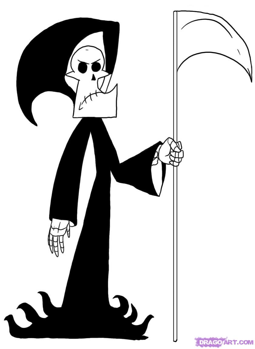 Drawn grim reaper billy and mandy Adventures How Network  Grim