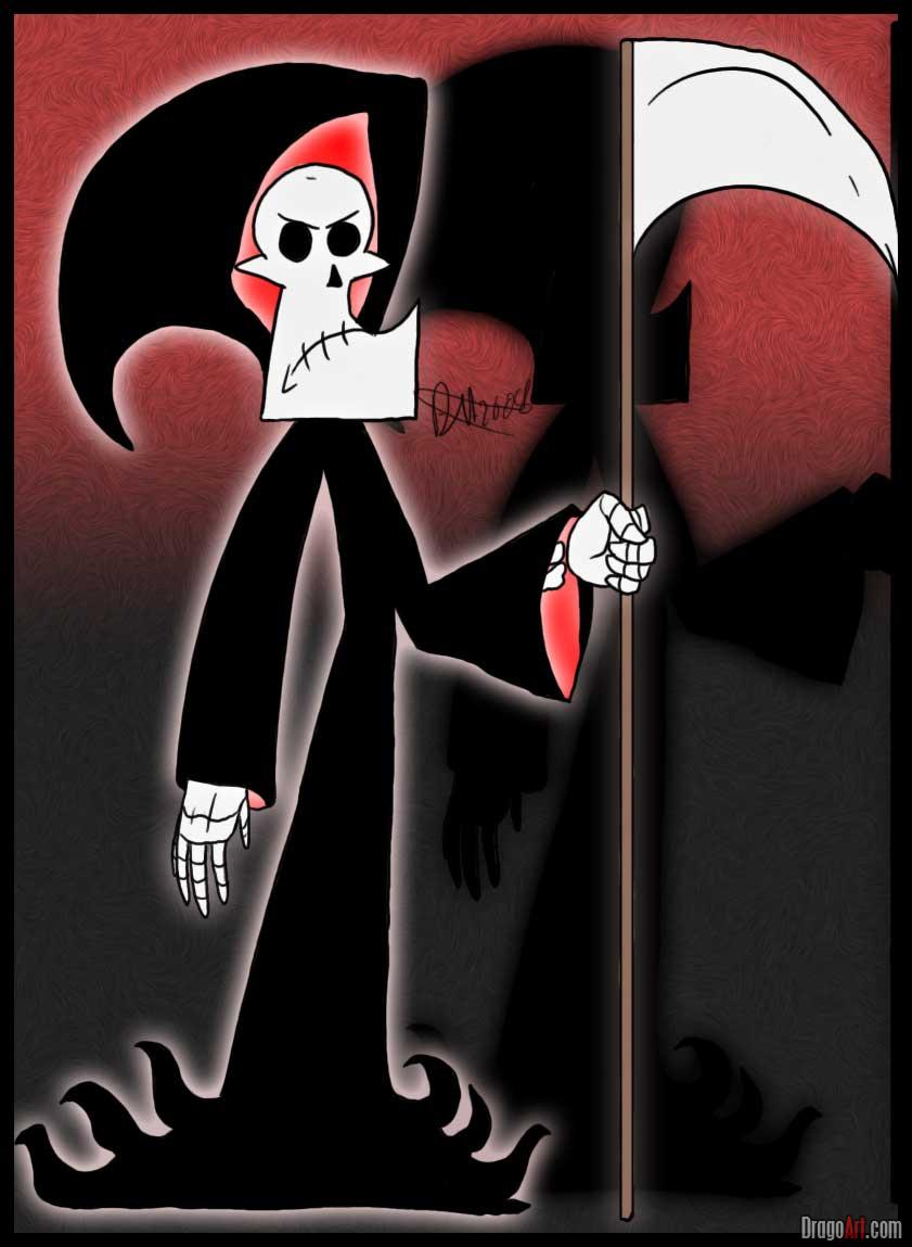 Drawn grim reaper billy and mandy Adventures Draw  by to