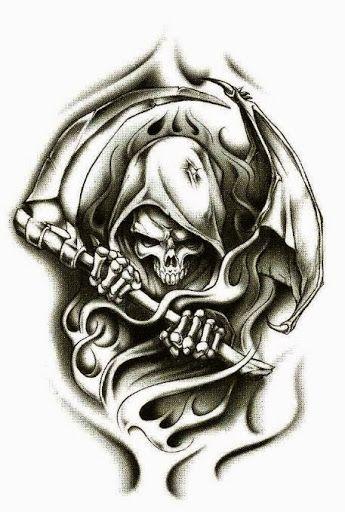 Drawn grim reaper blind 42 on Grim Reaper reaper
