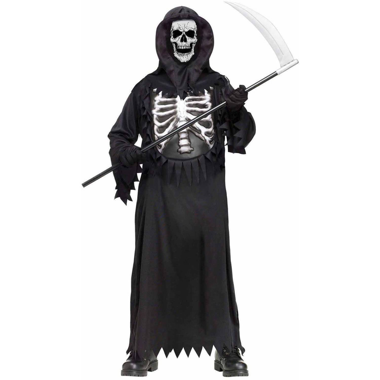 Drawn grim reaper boy Halloween com Chest Walmart Reaper