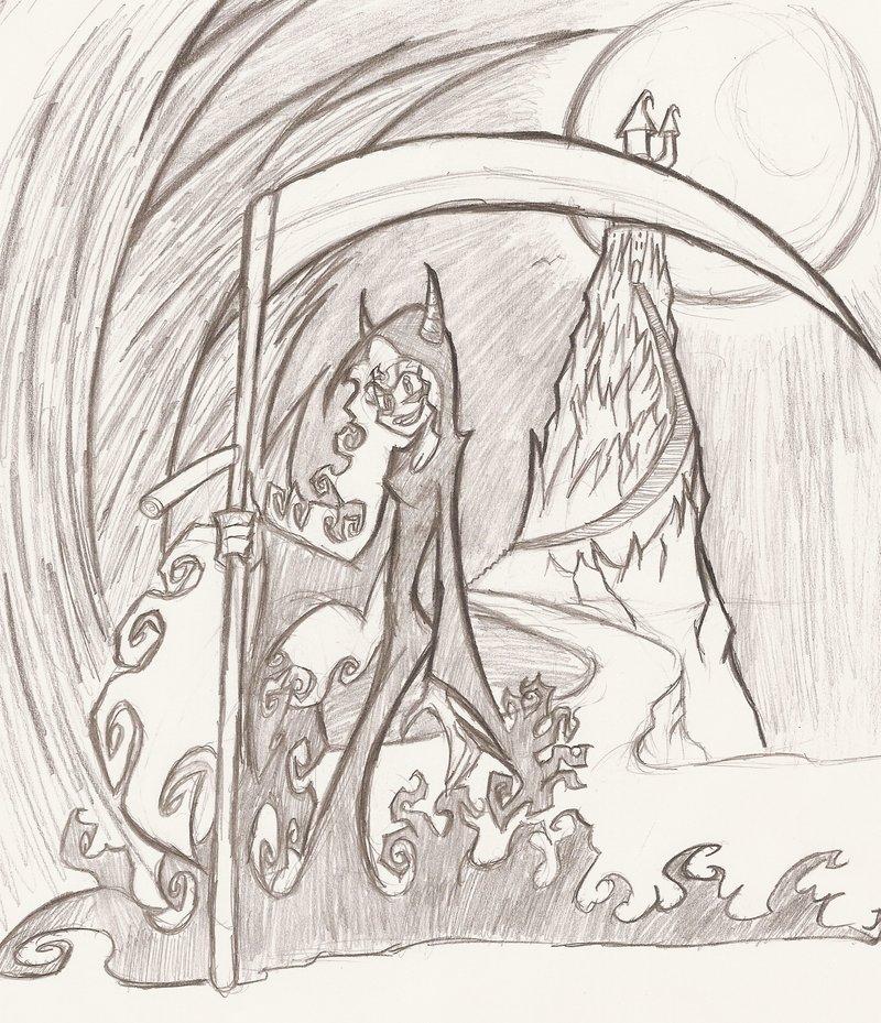 Drawn grim reaper boy DeviantArt The by boy reaper