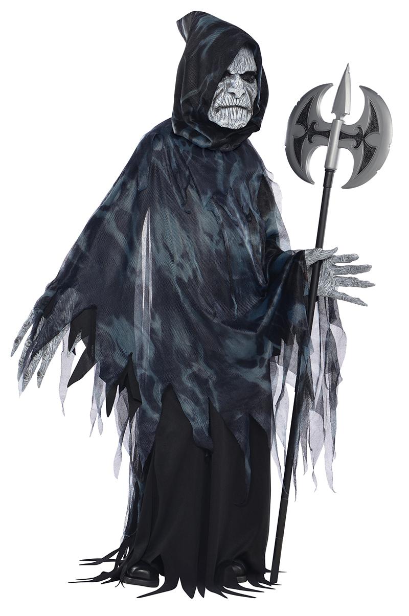Drawn grim reaper boy Dress Kid Taker Dress Childrens