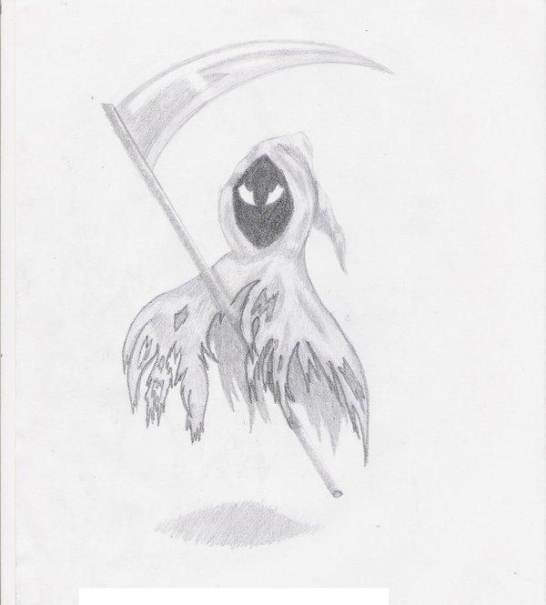 Drawn grim reaper chibi Grim Chibi on n zelda