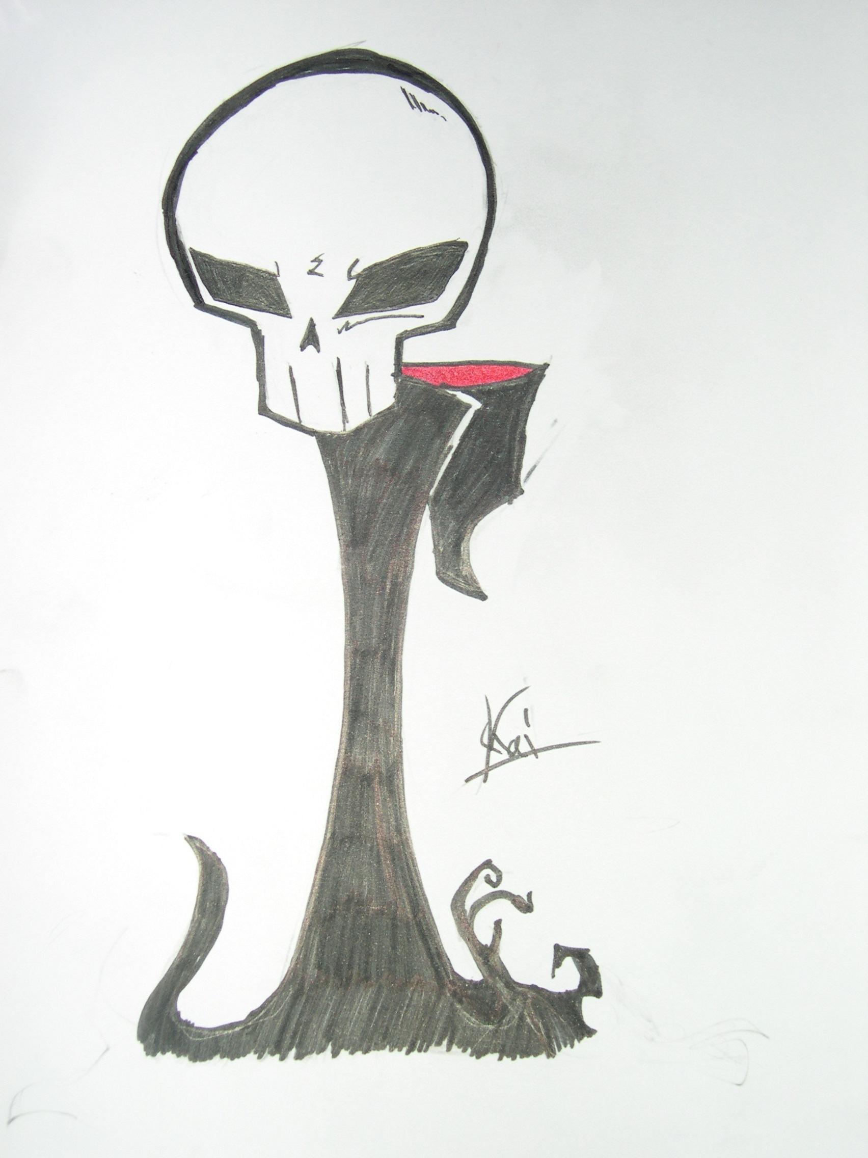Drawn grim reaper chibi DeviantArt Invader sailor knuck11 Reaper