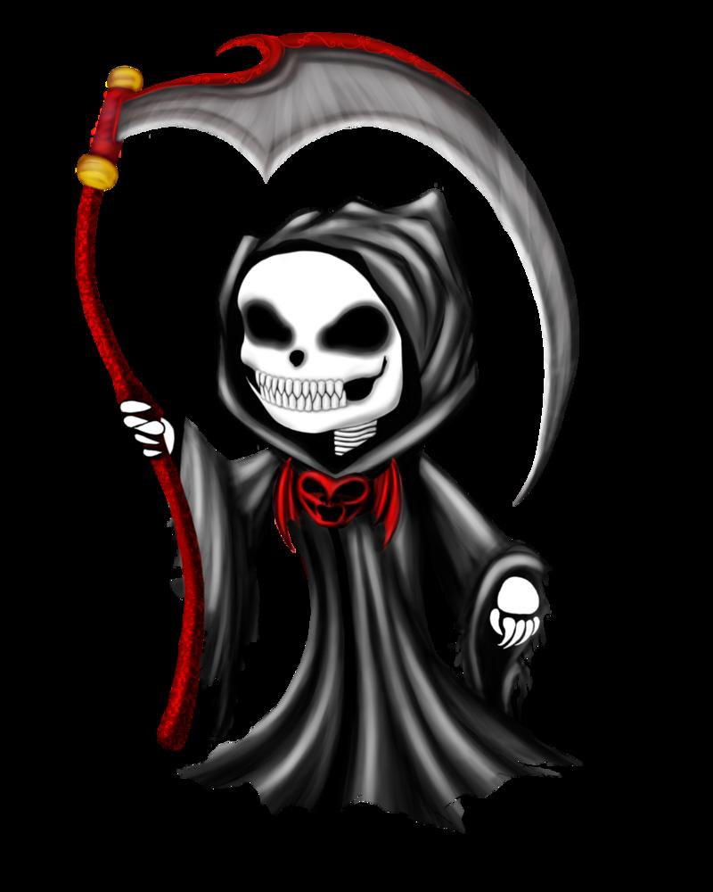 Drawn grim reaper chibi By Chibi Grim TaraSF on