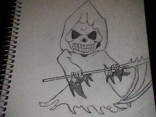 Drawn grim reaper chibi Mkfan555 Chibi Reaper 31 Chibi