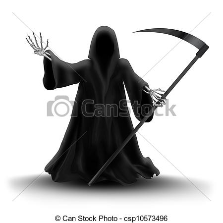 Reaper clipart cloak  Grim Reaper Cloak Drawing