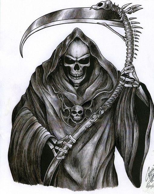 Drawn grim reaper death 215284_0068 The Grim Pinterest reaper