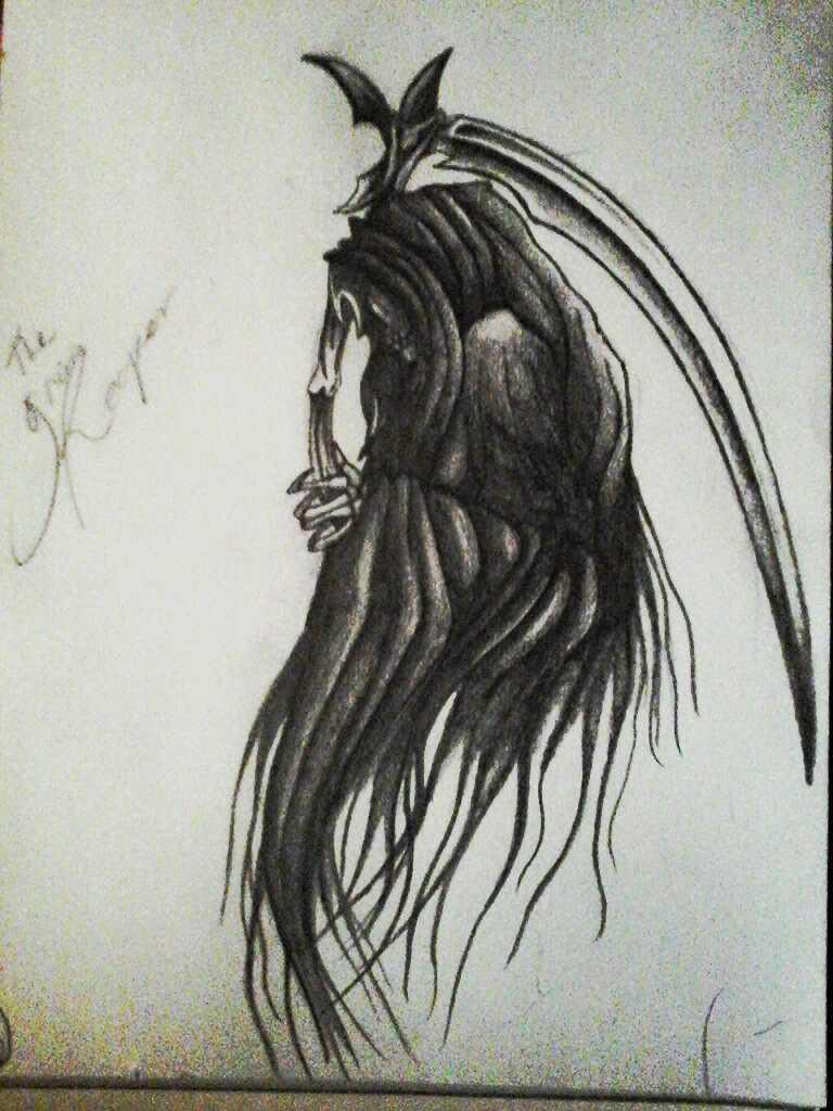 Drawn grim reaper death Death rocklover25 Reaper/ DeviantArt Grim