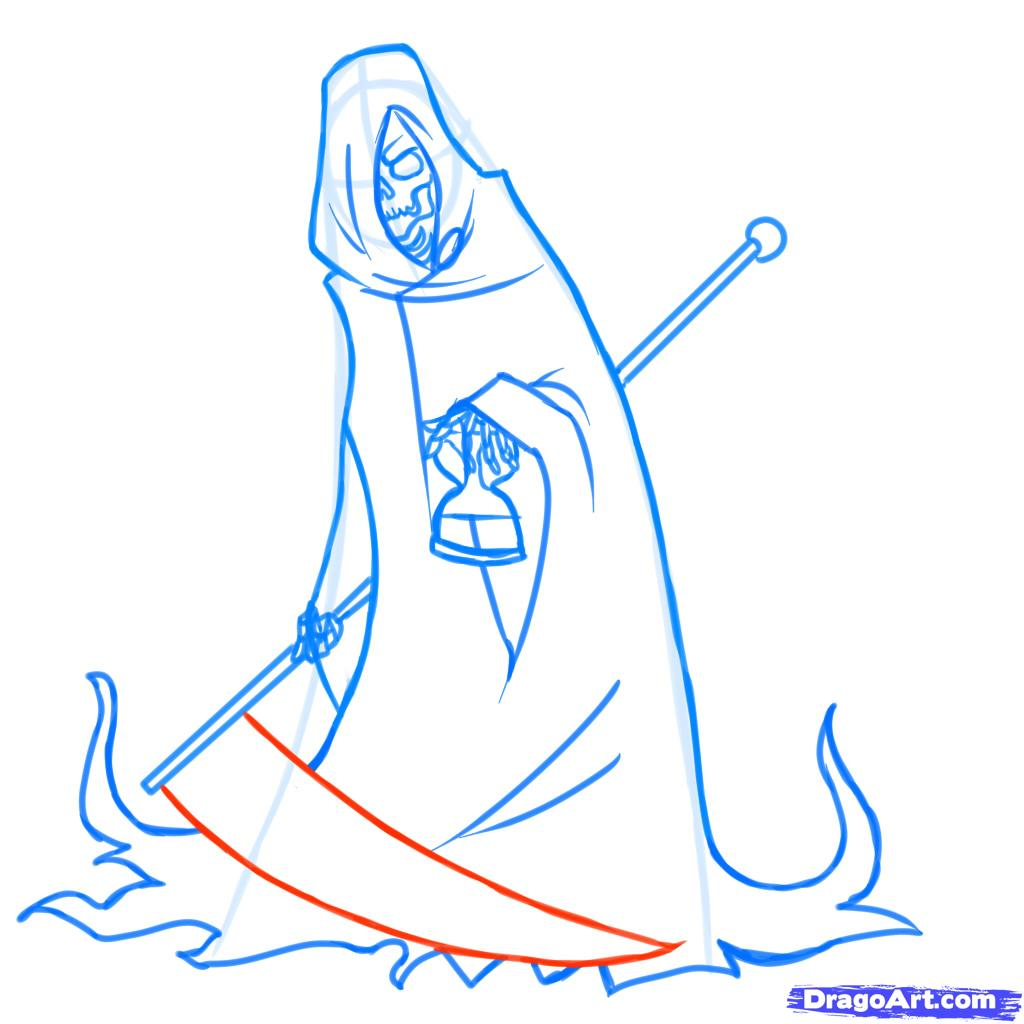 Drawn grim reaper death Reaper the by reaper 8