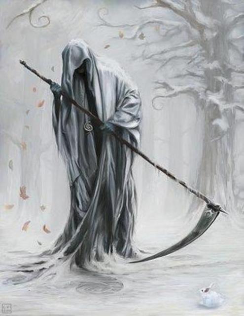 Drawn grim reaper death Best Grim on Reaper Pinterest