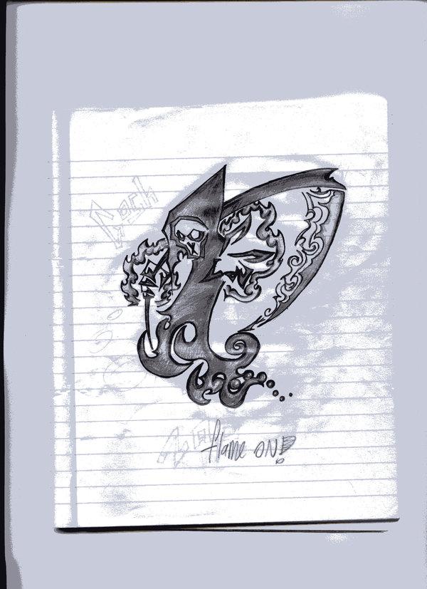 Drawn grim reaper dream Reaper DeviantArt Grim dream Tattoo