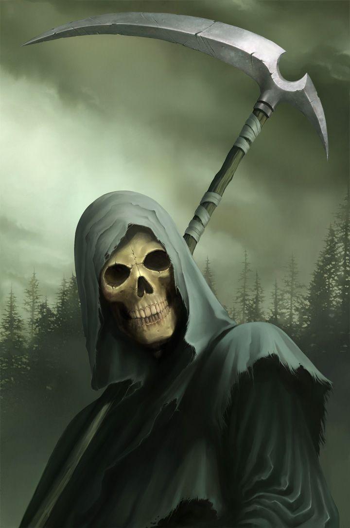 Drawn grim reaper dream 129 on Reaper The Pinterest