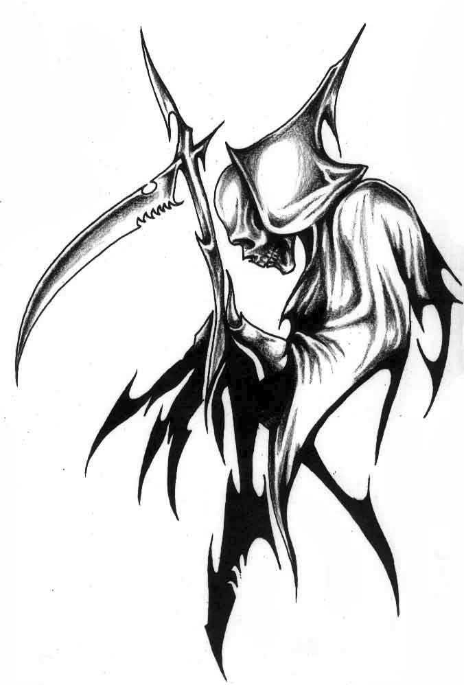 Drawn grim reaper dream Users) (1 Grim Gaia Reaper