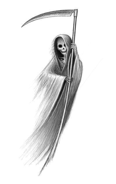 Drawn grim reaper dream Tattoo reaper 25+ ideas Grim