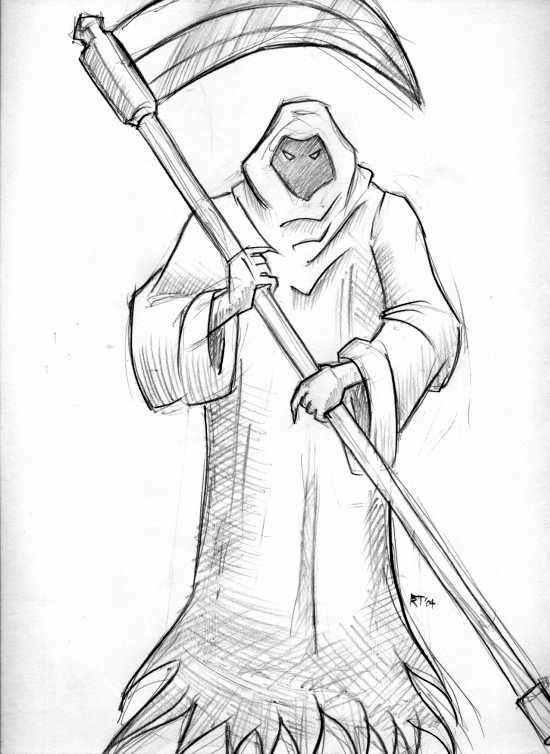 Drawn grim reaper easy Blongblang Reaper Grim by DeviantArt