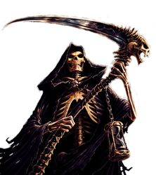 Drawn grim reaper female villain Wikia by Reaper Grim Wiki