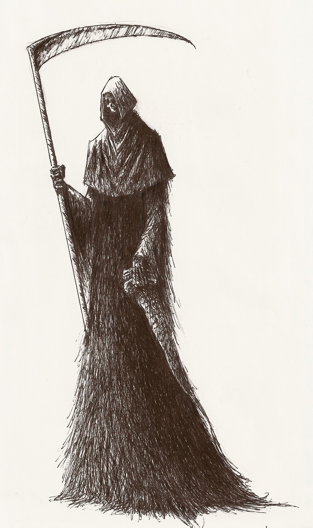 Drawn grim reaper female villain Wikia by Reaper by Wiki