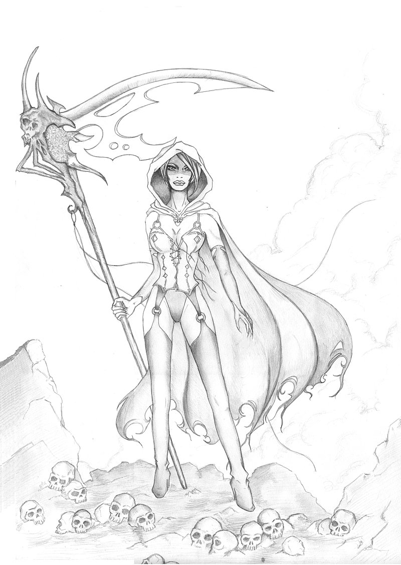 Drawn grim reaper girm Sketch ClimaxTogether by DeviantArt on