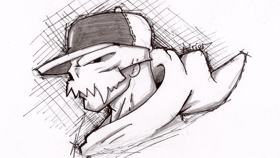 Drawn grim reaper graffiti On by Grim sketch AVN88