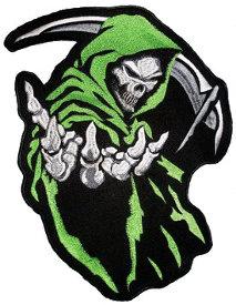 Drawn grim reaper grem (Light com Grim Green) www