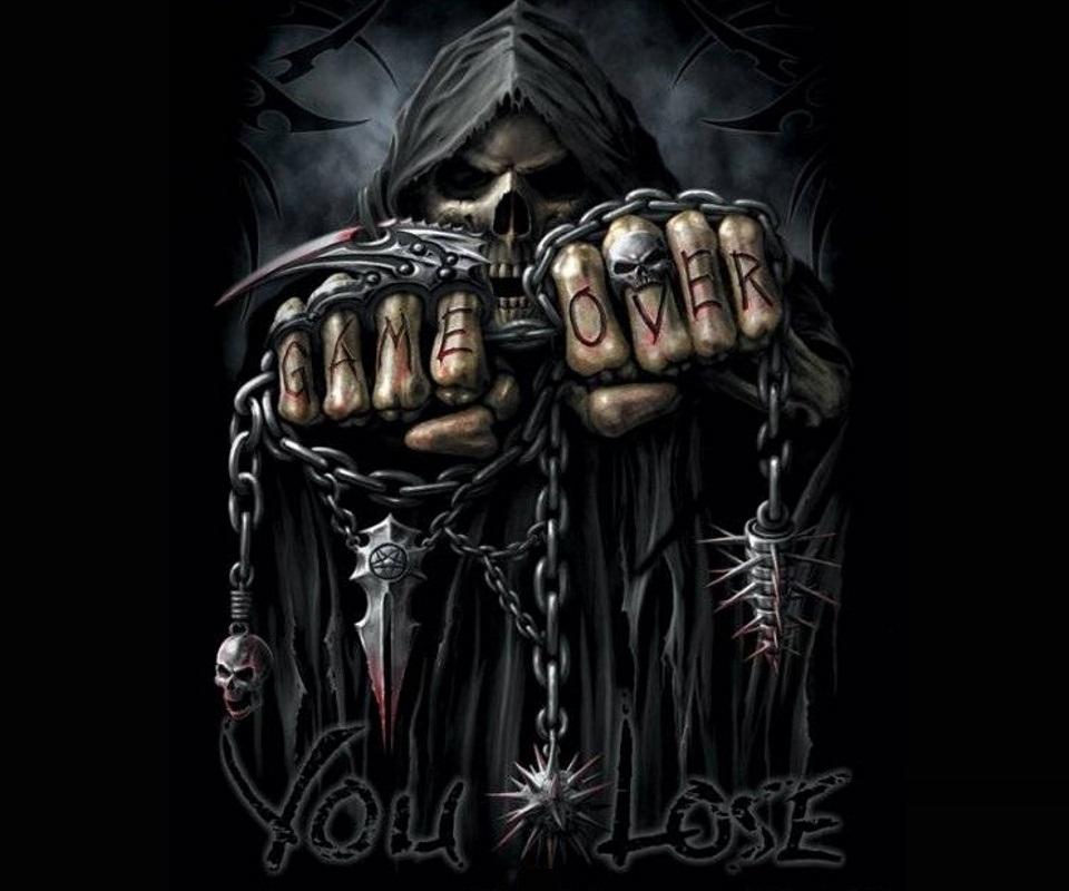 Drawn grim reaper grem Face Grim Grim  Wallpapers
