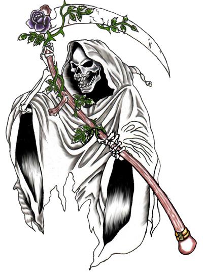 Drawn grim reaper grem Quality tattoos Photos  grim