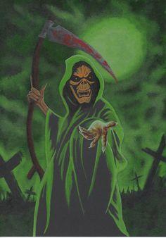 Drawn grim reaper grem Reaper drawings Scary Drawings by