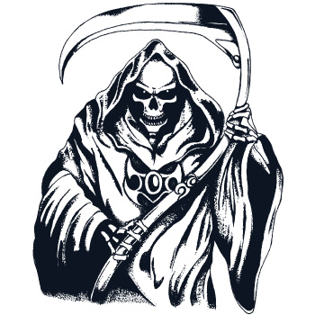 Drawn grim reaper outline Luis4646 Grim DeviantArt Reaper by