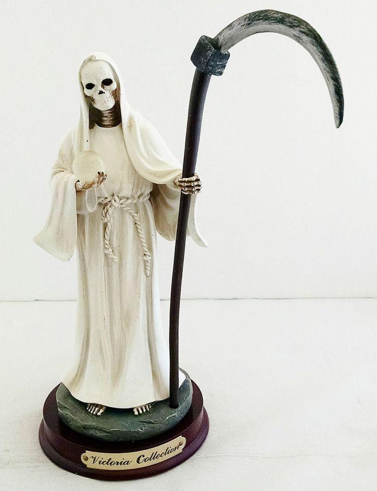 Drawn grim reaper santa muerte Inch Muerte Statue Reaper Muerte