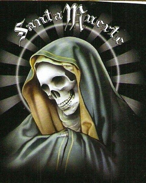 Drawn grim reaper santa muerte Muerte1 From Selling Skeletal Death