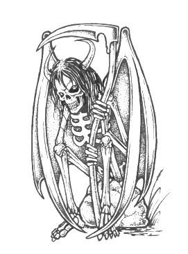 Drawn grim reaper skeleton Reaper Design Grim & Images