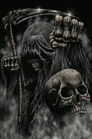 Drawn grim reaper skull Drawing Skull Reaper Reaper Grim