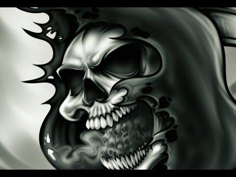 Drawn grim reaper skull Step Skull a Reaper Tattoo