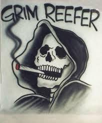 Drawn grim reaper smoke Weed Google grim Google grim