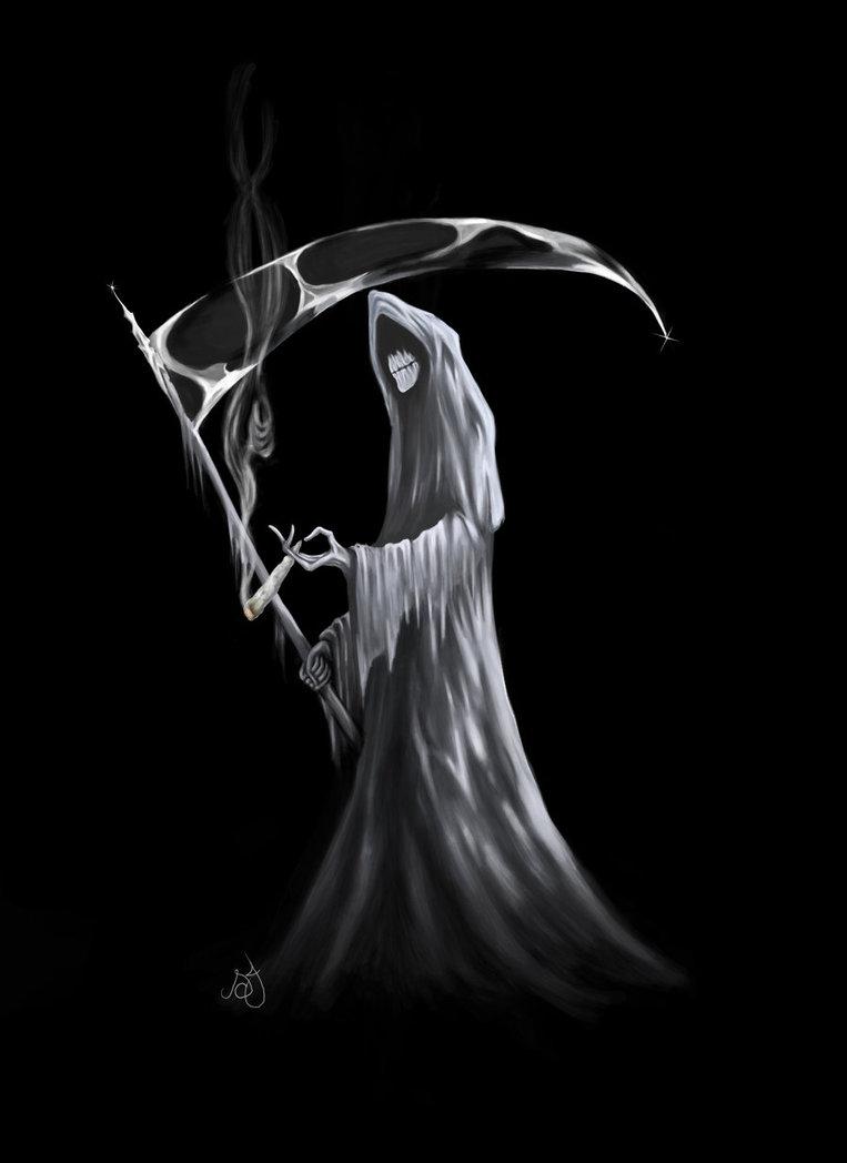 Drawn grim reaper smoke Reaper blunt Reaper Google Grim